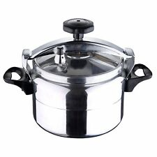 Stainless Steel Fast Pressure Cooker Swiss Home 22 cm 6 Quart 5 liters