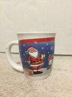 Royal Norfolk Coffee Tea Mug Cup Santa Presents Holiday Merry Christmas Ceramic
