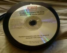 CDC Product Recovery Cd Rom WINDOWS XP HOME EDITION