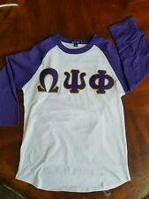 Omega Psi Phi Baseball T shirt - 4XL