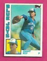 1984 TOPPS # 62T  BLUE JAYS JIMMY KEY ROOKIE TOPPS TRADE NRMT+  CARD(INV# C4654)