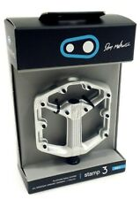 Crank Brothers Stamp 3 Pedals, Small, Silver, Danny Macaskill Edition