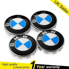 4pcs Wheel Centre Caps Hub Cover BMW 1 3 5 7 Series X6 M3 Z4 E46 E90 68mm UK