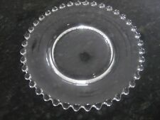 """VINTAGE """"CANDLEWICK"""" BY IMPERIAL GLASS OHIO BREAD&BUTTER PLATE 6 1/4"""""""