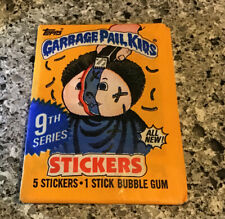 1985 Garbage Pail Kids Series 9 Sealed Pack