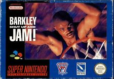 BARKLEY SHUT UP AND JAM - SUPER NINTENDO SNES, NUOVO