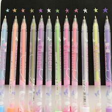 Hot Multicolor Gel Ink Pen Escolar Stationery Papelaria School Office Supplies