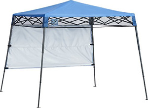 Quik Shade Go Hybrid 6' x 6' Sun Protection Pop-Up Compact and Lightweight 7' x