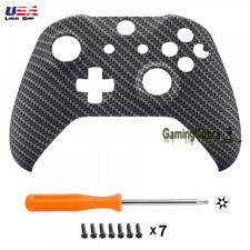 Carbon Fiber Soft Touch Housing Shell Cover for Xbox One S One X Game Controller