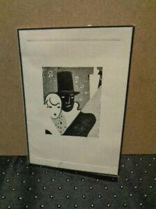 Rare 10/1/1938 El Cortez Hotel San Diego Bachelorettes Black & White Ball Invite