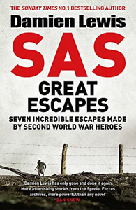 SAS Great Escapes, Very Good Condition Book, Lewis, Damien, ISBN 178747528X