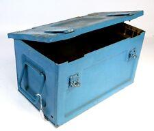 Strumento Vintage Box trasporto petto Tronco Vecchio Militare Scatola SV 140 A H 50