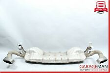 08-10 Porsche Cayenne 957 Complete Exhaust Muffler Tips Downpipe Pipe Assembly