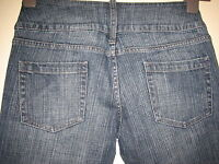 N22)  WOMENS NEXT  BOOTCUT STRAIGHT LEG BLUE JEANS ZIP FLY  SIZE 10R  LEG 28