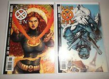 New X-Men #128 & #129 1st Appearance Of Fantomex (VF/NM 9.0) 2002 Marvel