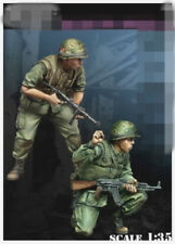 resin figure model garage kit 1:35 Vietnam war 2 US soldiers RN2342 Resin Kit
