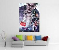 SUICIDE SQUAD THE JOKER HARLEY QUINN BATMAN GIANT WALL ART PICTURE PHOTO POSTER