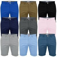 Mens Chino Shorts by Stallion Cotton Work Casual Half Pants Summer All Sizes New