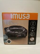 Imusa-ELECTRIC SINGLE BURNER Portable Hot Plate Stove Countertop Travel Cooker