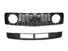 FOR 2005-2009 FORD MUSTANG GT FRONT BUMPER LOWER GRILLE CENTER + GRILLE