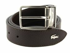 LACOSTE Elegance Curved Stitched Edges W110 Brown