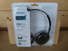 Philips Flite Ultrlite Wireless Stereo Headphones SHB4405 (SEALED) - Black