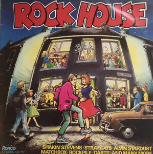 "Various Artists Rock House 12"" Vinyl Record Album (1981) RTL2061"