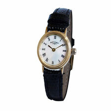 Genuine Leather Strap Analog Oval Wristwatches
