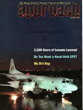 Approach Magazine September 1999 My Dirt Nap EX FAA 030816jhe