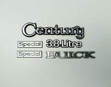 78-81 Buick Century Special 3.8 Litre Emblems