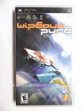 Import USA: jeu WIPEOUT PURE sur sony PSP game spiel juego course vaisseau race