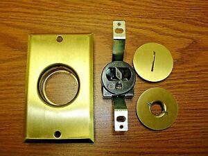 Brass Floor Receptacle Arrow Hart 5797 Hart & Hegeman