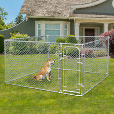 Durable Metal fences Outdoor Large Dog Kennel Cage Pet Pen Run House Cage Pen