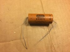 NOS Vintage 1950s Astron Minimite 500 uf 15v Guitar Amp Paper Capacitor (Qty Av