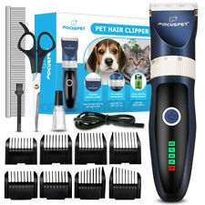 More details for professional pet dog grooming clipper thick fur hair trimmer electric shaver set