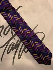 DUCHAMP London Silk Tie Geometric Diamond Patterns Necktie Men Size 60 x 3.5