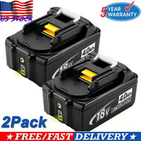 For Makita BL1840B-2 18-volt 18v 4.0Ah Rechargeable LXT Lithium-ion Tool Battery