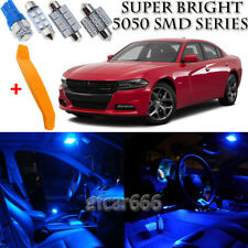 16 x Ultra Blue Interior LED Lights Kit + TOOL For 2015 - 2018 Dodge Charger