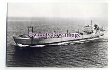 cb1041 - Dutch Van Ommeren Bulk Carrier - Sliedrecht , built 1950 - postcard
