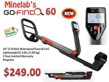 """Minelab Go-Find 60 Metal Detector """"Low Price w/ High End Performance"""" Ships FREE"""