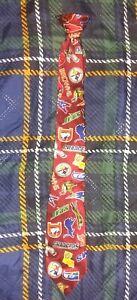 Vintage 90s NFL Logos Youth Children Kids Clip On Silk Necktie Los Angeles Rams