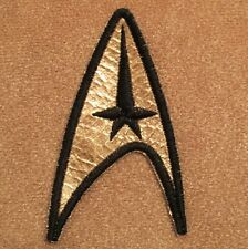 Star Trek TOS Original Series Uniform Patch - Command Enterprise Insignia Kirk