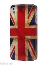 Look Vintage Union Jack Bandera Iphone 4g 4gs Funda