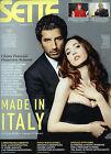 SETTE- Corriere della Sera N°1/2 /12.GEN.2012 * CHIARA FRANCINI - F. SCIANNA