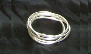 Sweetwater 99.99% Pure Silver Wire  1/2 meter 19 Inch 2mm Soft Temper + COA
