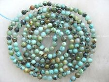 """beautiful! 15.5"""" 2mm green turquoise  round beads wholesale nature"""