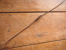 CAST IRON CEE LINK BLUNT ENDS CORN PLANTER WIRE - HYER 1880- ANTIQUE BARBED WIRE