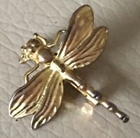 Vintage Dragonfly Brooch Retro 1950s Style GT Bug Insect Pin Mothers Day Gift