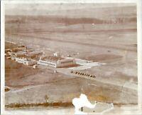 1943 Blacksburg Virginia Airport Airfield WW2 Era Aerial View Photo Montgomery