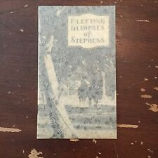 circa 1930's Fleeting Glimpses of Stephens College Columbia Missouri Booklet